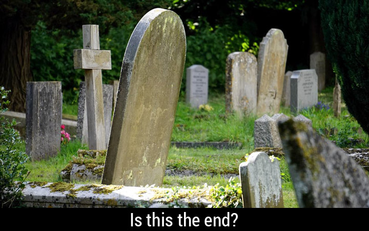 Cemetery - Is this the end?